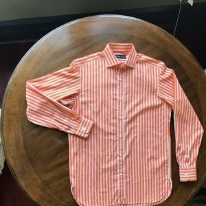 Purple Label Ralph Lauren Men Sz 15 Dress Shirt